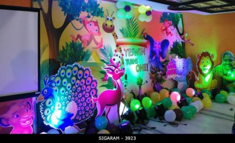 Forest Themed Birthday Decoration At Jayaram Hotel Pondicherry Wedding Decorators In