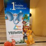 Forest Themed Birthday Nameboard Decoration at Jayaram Hotel Pondicherry (11)