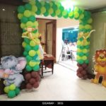 Forest Themed balloon Entrance Decoration at Jayaram Hotel Pondicherry (10)