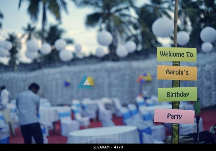 Outdoor Birthday Party Decorations in Pondicherry Anumanthai (1)