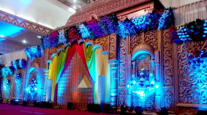 Reception Decoration at Jayaram Mandapam Pondicherry (1)