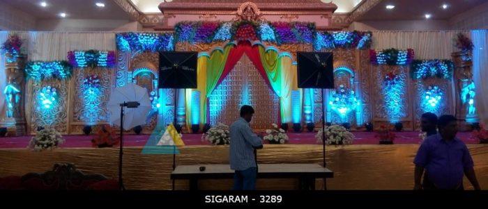 Reception Decoration at Jayaram Mandapam Pondicherry (5)