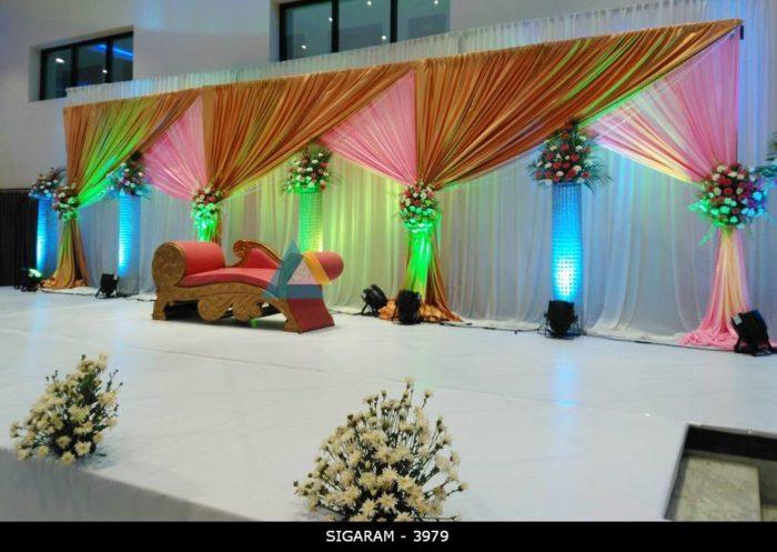 Reception Decoration at Logalakshmi Mahal, Villupuram (10)