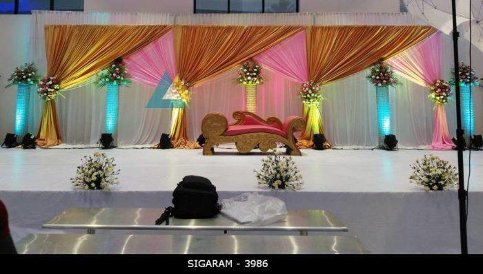 Reception Decoration at Logalakshmi Mahal, Villupuram (12)