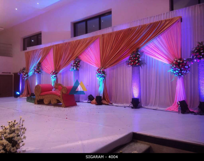 Reception Decoration at Logalakshmi Mahal, Villupuram (13)