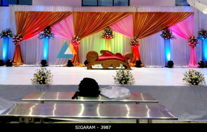 Reception Decoration at Logalakshmi Mahal, Villupuram (17)