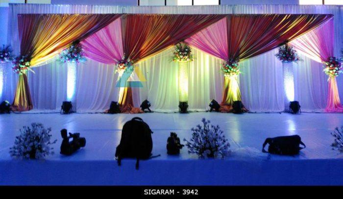 Wedding Reception Decoration at Logalakshmi Mahal, Villupuram (2)