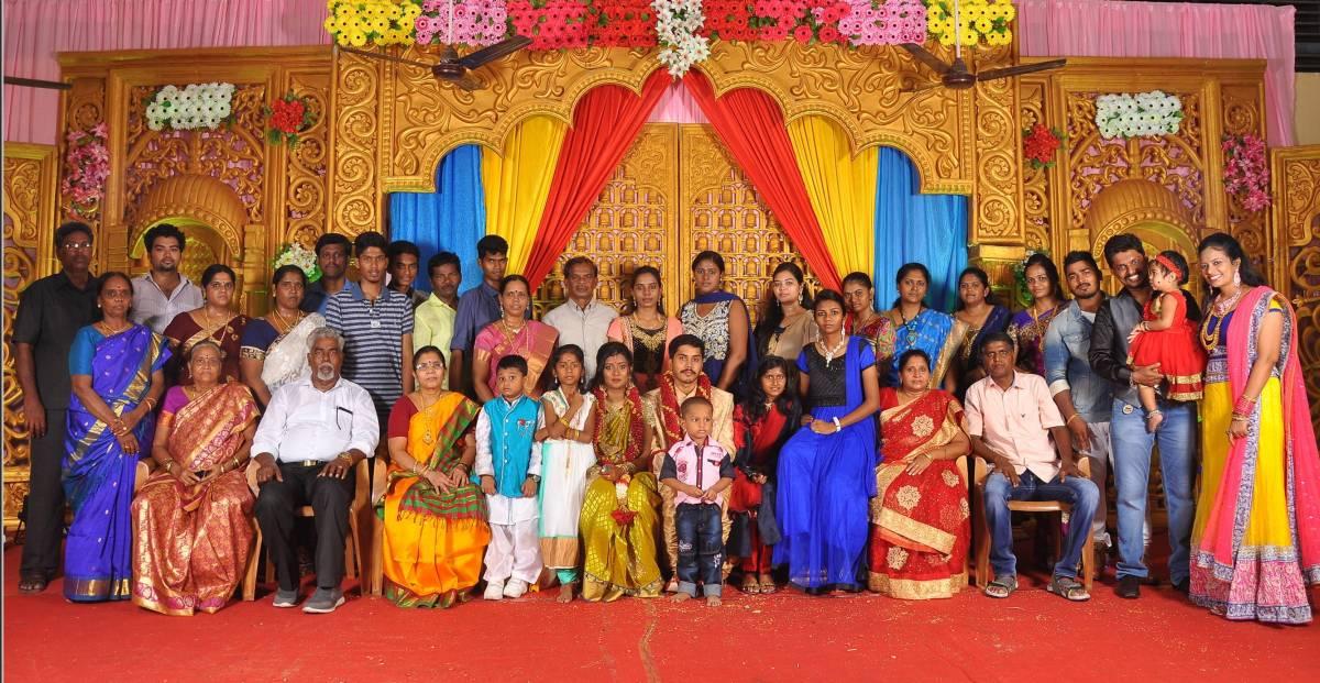 Reception Decoration at Paris Mahal, Pondicherry « SIGARAM WEDDING ...