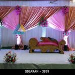 Wedding Reception Decoration at Sri Devi Mahal, Sriperumbudur