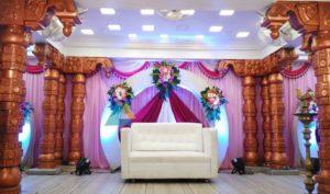 Reception Decoration at Vel Sokkanathan Mandapam, Pondicherry (1)