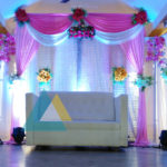 Wedding Reception Decoration at Samikannu Thirumana Nilayam, Pondicherry