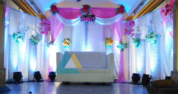 Reception decoration at Samikannu Mandapam Podnicherry (3)
