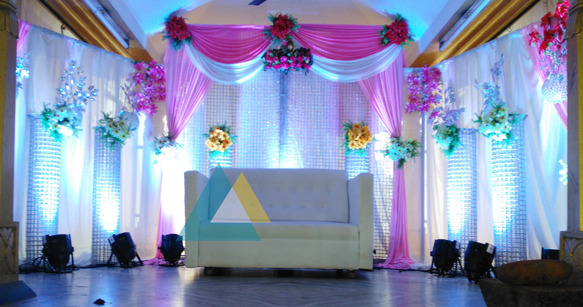Wedding Reception Decoration at Samikannu Thirumana Nilayam ...