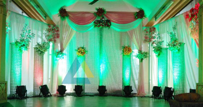 Reception decoration at Samikannu Mandapam Podnicherry (6)