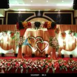 Reception Decoration at Anandha Inn Hotel, Pondicherry