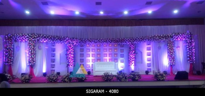 Wedding Reception Decoration at Chennai (1)