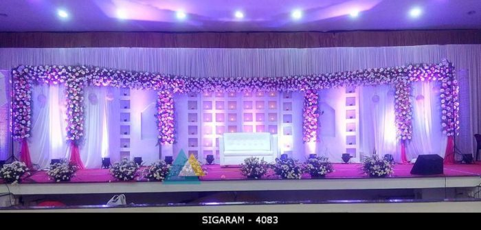 Wedding Reception Decoration at Chennai (2)