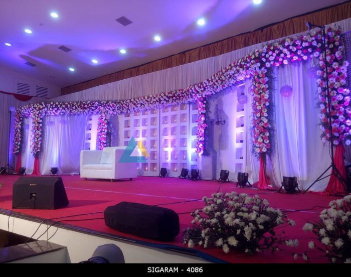 Wedding Reception Decoration at Chennai (3)