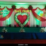 Wedding Reception Decoration done at Mass hotel, Pondicherry