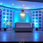 Wedding Reception Stage Decoration at Le Royal Park Hotel, Puducherry