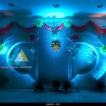 Wedding Reception Decoration done at Ambal Mandapam, Puducherry