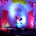 Mickey themed Birthday Decoration @ Atithi Hotel, Puducherry