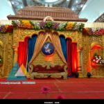 Wedding Stage Decoration @ Jayaram Thirumana Nilayam, Puducherry