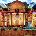 Wedding Stage Decoration @ Sri Subhalakshmi Mahal, Pondicherry