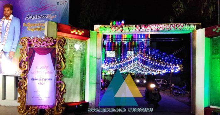 Wedding Entrance Decorators in Pondicherry