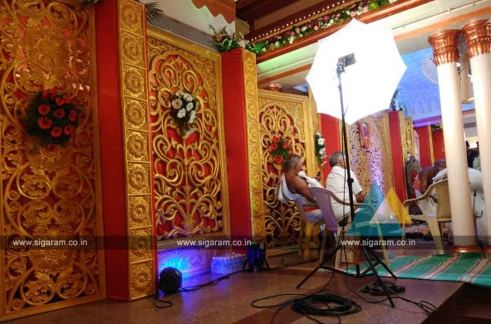 Wedding Mandap Decoration at Anandha Thirumana Nilayam