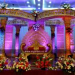 Wedding Mandap Stage Decoration @ Anandha Thirumana Nilayam, Puducherry