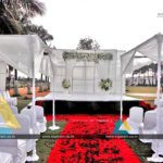 Beach Wedding Decoration at Ashok Beach Resort, Pondicherry