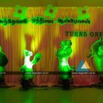 Birthday Party Balloon Decoration @ Kurinji Nagar Community hall, Pondicherry