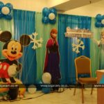 Frozen Snowflake Themed Birthday Party Decoration @ Le Royal Park Hotel, Puducherry
