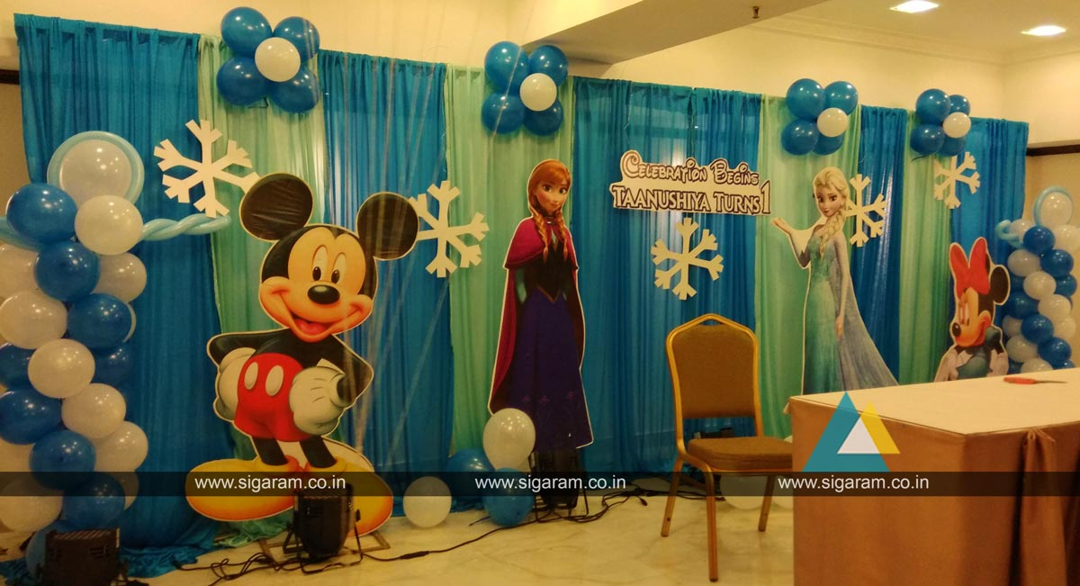 Birthday Party Decoration At Le Royal Park Hotel Pondicherry 5