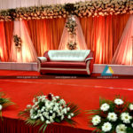Reception Stage Decoration @ Anandha Inn, Puducherry