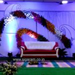 Reception and Wedding stage Decoration @ Neyveli – Block-24 Community Hall
