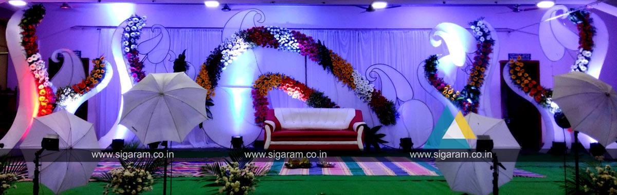 Reception And Wedding Stage Decoration Neyveli Block 24