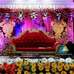 Wedding Stage Decoration @ Vel Sokkanathan Thirmana Nilayam, Puducherry