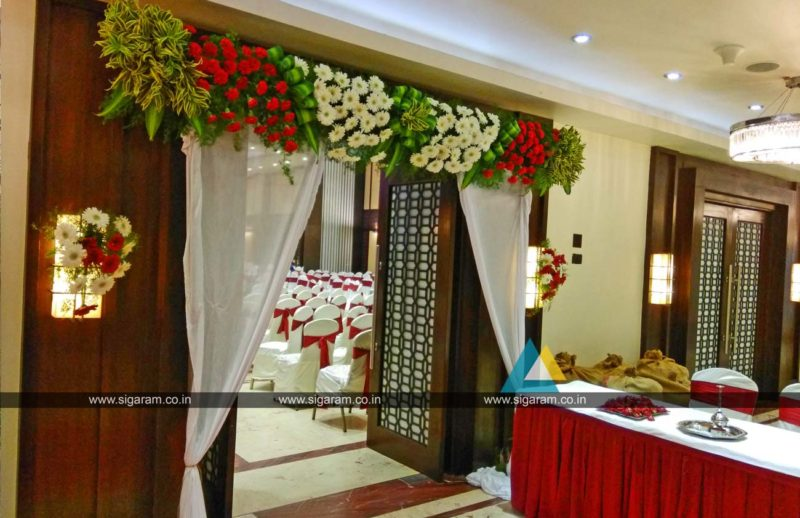 Wedding Entrance decoration at Anandha Inn Pondicherry (2)