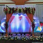 Reception and Wedding Stage decoration at Shri Janani Thirumana Maligai, Puducherry