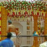 Wedding Stage Decoration at Anandha Inn, Pondicherry