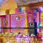 Reception and Wedding stage Decoration done at NT Mahal, Puducherry