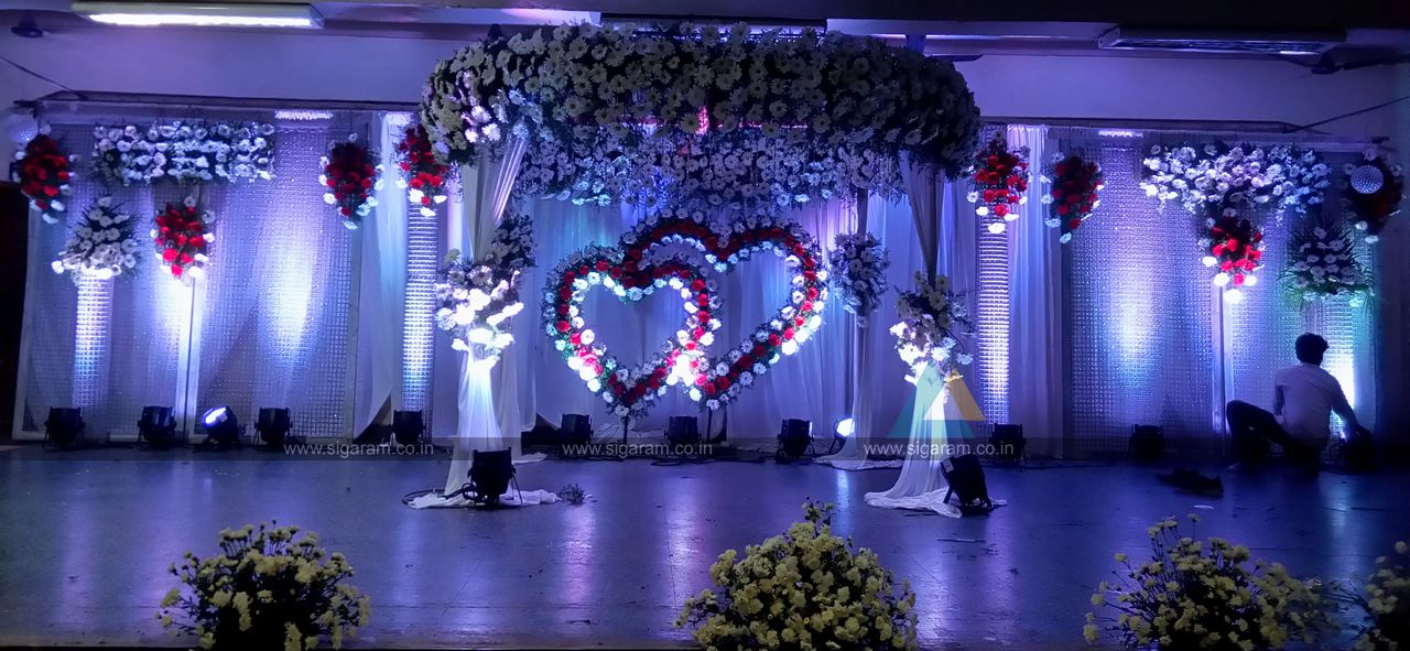 Wedding Stage Decoration In Neyveli Block 24 Community Hall