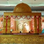 Reception and Marriage stage decoration at NT Mahal, 100ft road, Puducherry