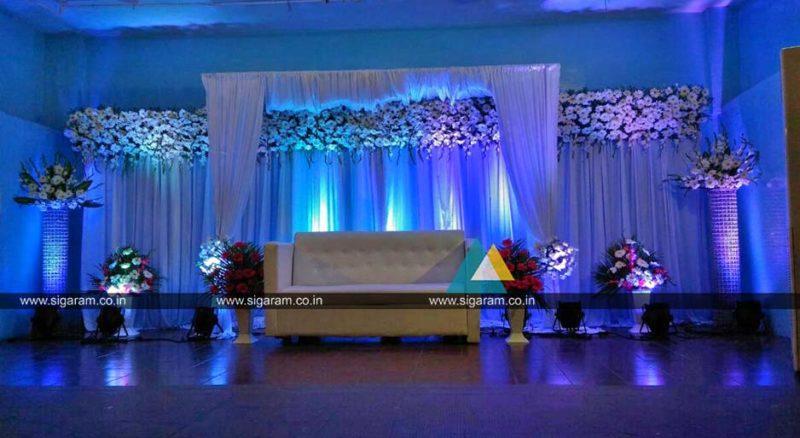 Reception Wedding Decorators In Pondicherry Chennai Tamilnadu