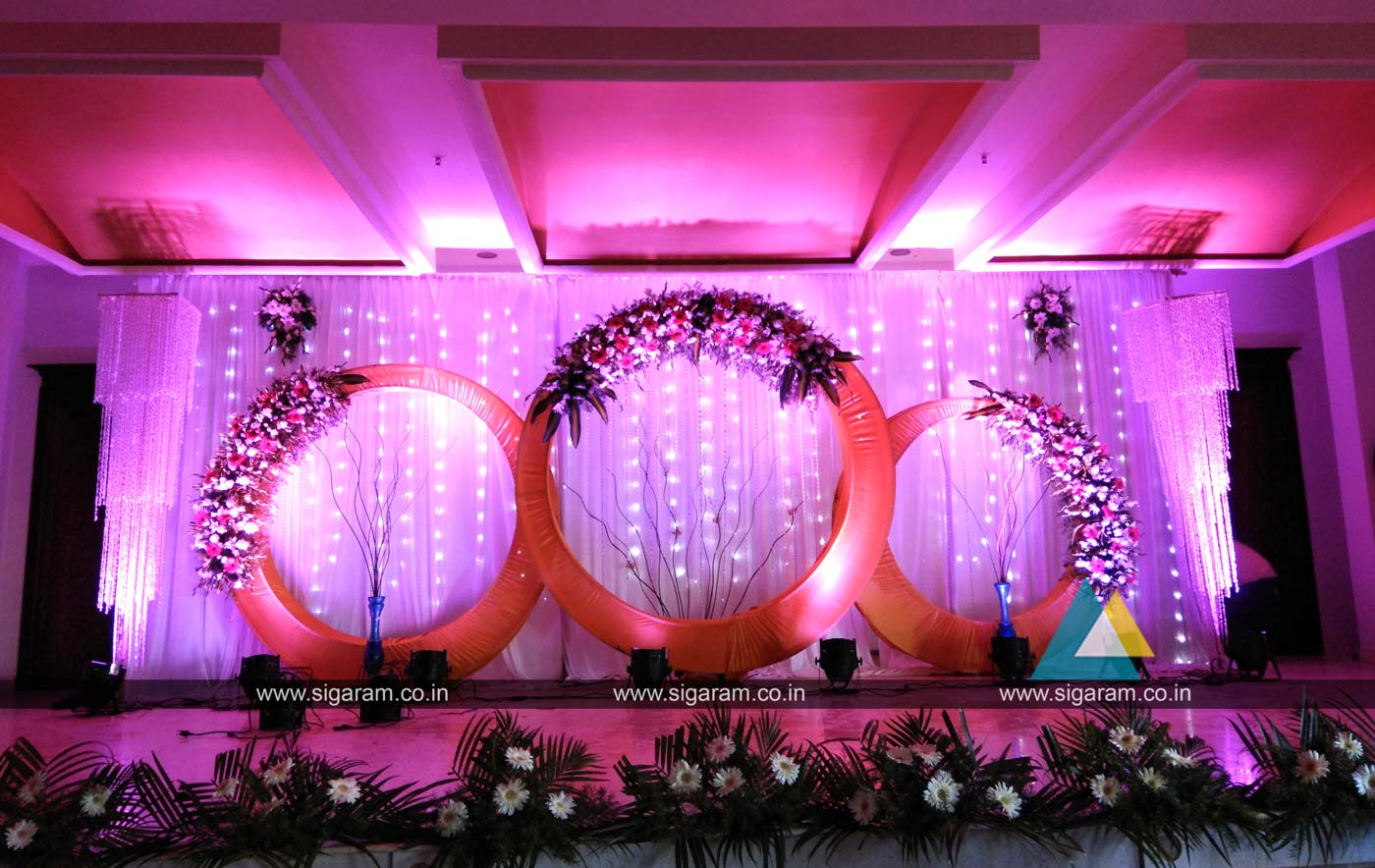 reception decoration at atithi hotel pondicherry 1