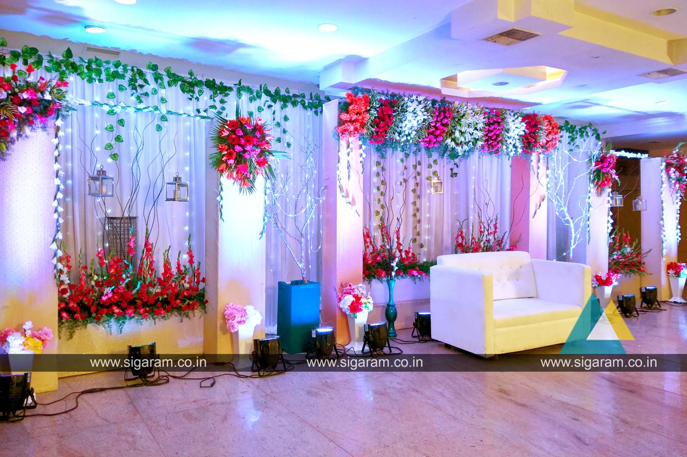 Sigaram wedding decorators for Decoration decoration