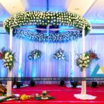 Reception and Wedding stage decoration at Accord Hotel, Puducherry