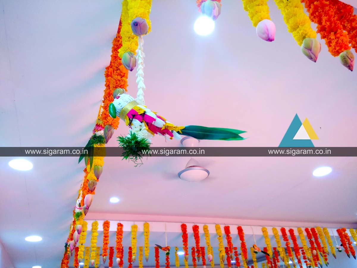 60th Wedding Anniversary (Sashtiapthapoorthi) Decoration at ...
